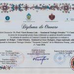 Diplomă de onoare