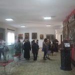 În vizită la muzeul Mănăstirii Neamț
