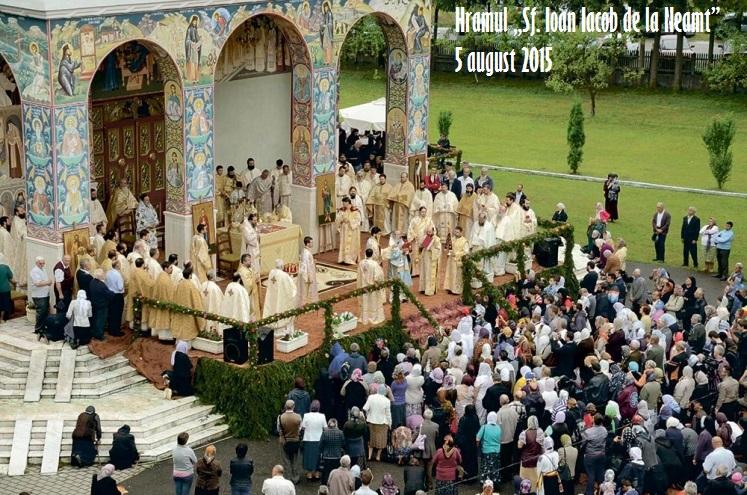 Hramul Sf. Cuv. Ioan Iacob de la Neamț – Hozevitul 4-5 august 2016
