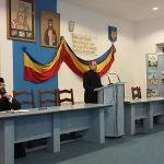 Aspecte din sala de conferinte