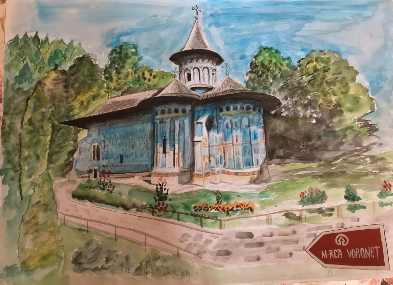 """O nouă provocare pentru elevi – """"The small Montmartre of  Bitola"""" – Macedonia"""