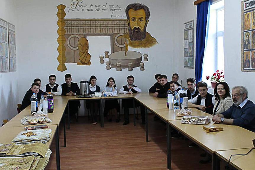 """Inaugurarea noului cabinet de """"Istoria artelor"""""""