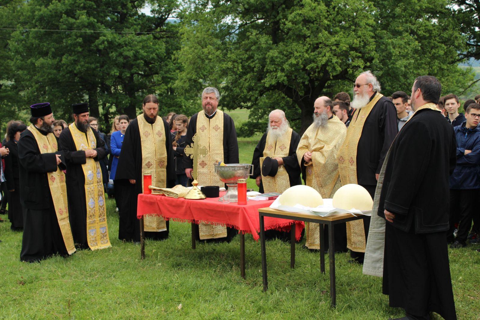 Rugăciune de binecuvântare a gospodăriei Seminarului