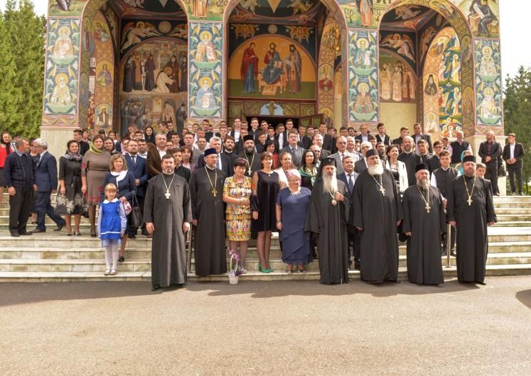 Seminarul Teologic de la Mănăstirea Neamţ a început anul şcolar