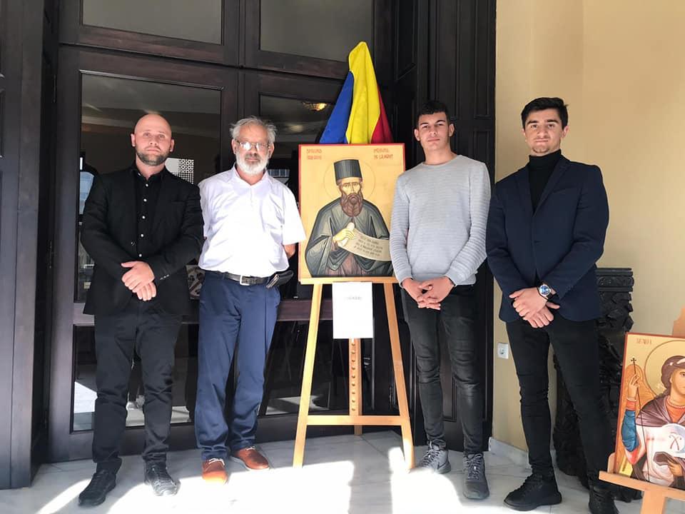 Expoziție de icoane și lucrări artistice la Olimpiada Internațională de Astronomie