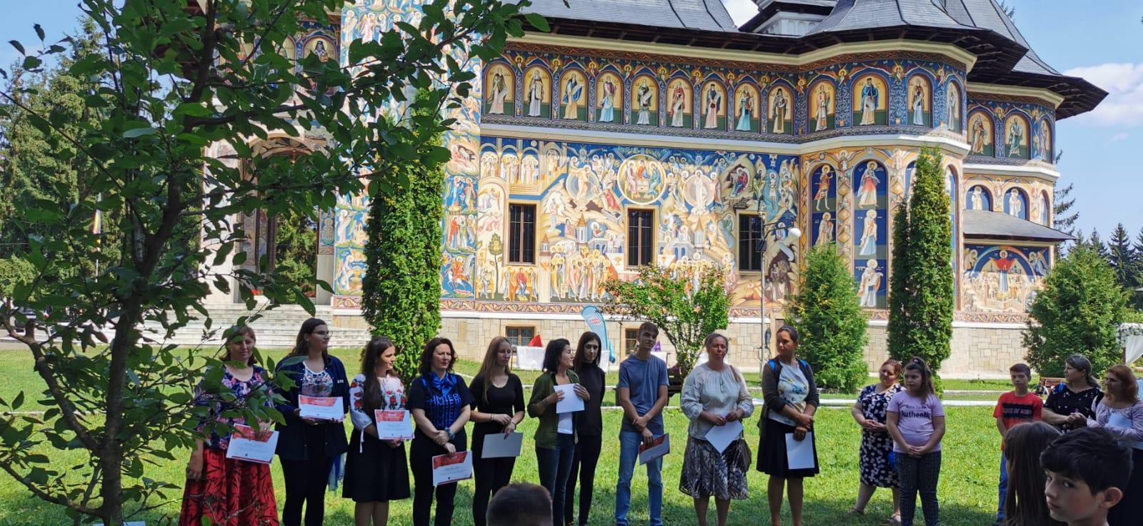 """Tabăra de copii """"Viața la țară"""" la Seminarul Teologic de la Mănăstirea Neamț"""